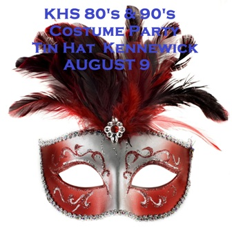 KHS 80's & 90's Costume Party At The Tin Hat  Kennewick, Washington
