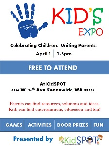 Kid's Expo at KidSPOT, Kennewick WA