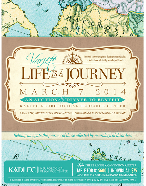 Variété: Life is a Journey by Kadlec Neurological Resource Center