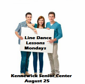 Line Dance Lessons Mondays At Kennewick Senior Center, Washington