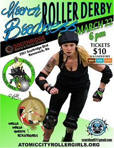 Atomic City Rollergirls Season Opener in Kennewick