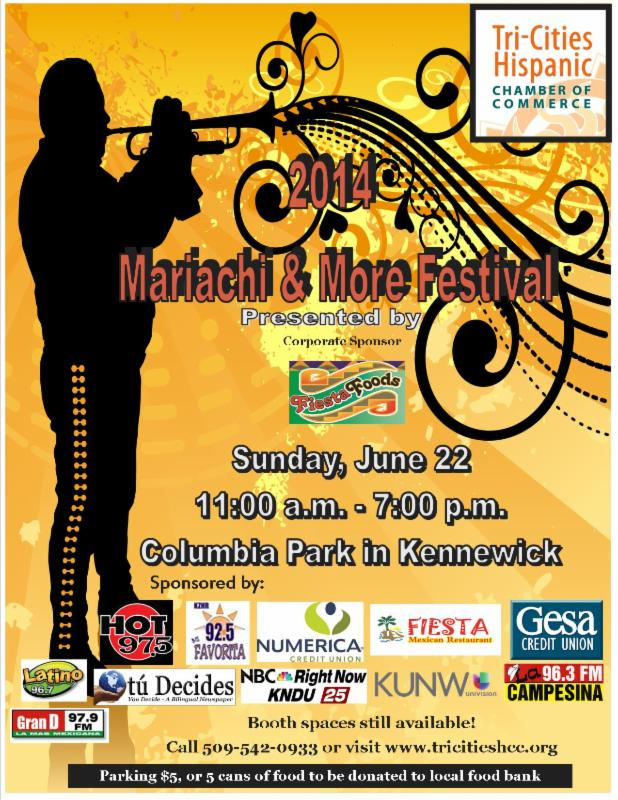 Mariachi And More Festival At Columbia Park, Kennewick Washington