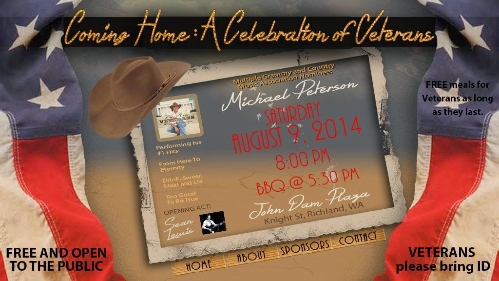 Michael Peterson Coming Home: A Celebration of Veterans, Richland