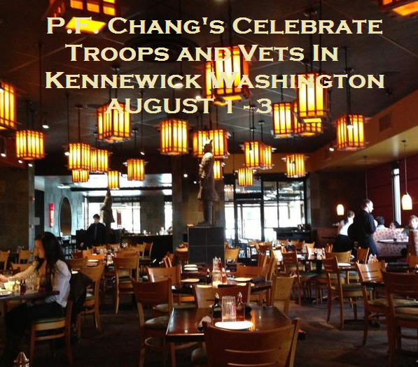 P.F. Chang's Celebrate Troops and Vets In Kennewick Washington