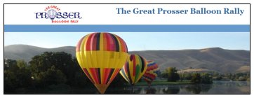 Prosser Great Balloon Rally