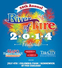 28th Annual River of Fire Festival Kennewick Washington