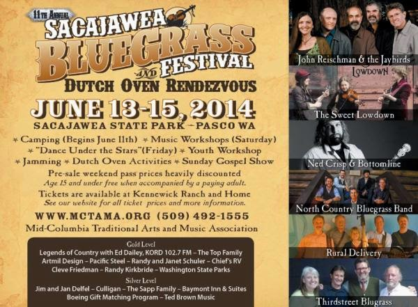 Sacajawea Bluegrass Festival In Pasco Washington