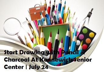 Start Drawing with Pencil & Charcoal At Kennewick Senior Center