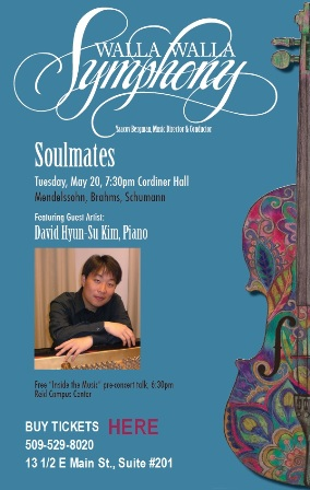Symphony Series : Soulmates in Cordiner Hall Walla Walla
