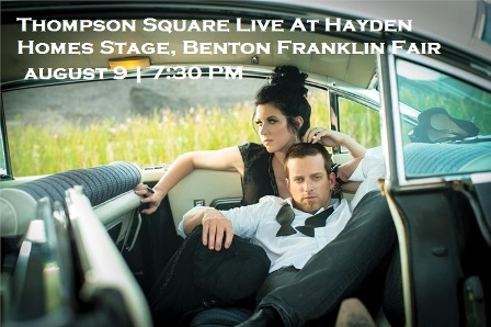 Thompson Square Live At Hayden Homes Stage, Benton Franklin Fair