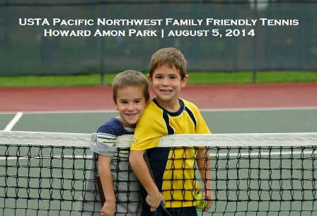 USTA Pacific Northwest Family Friendly Tennis At Howard Amon Park