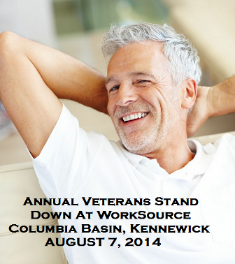 Annual Veterans Stand Down At WorkSource Columbia Basin, Kennewick